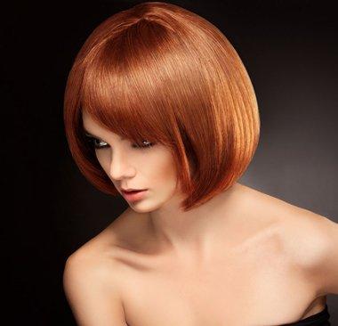 沙宣波波头短发发型图片