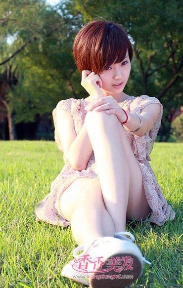 沙宣超短发发型图片 新潮女发超短发型(2)图片