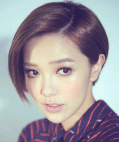 中学生符合的沙宣短发发型图片 女学生超酷短发发型(4图片