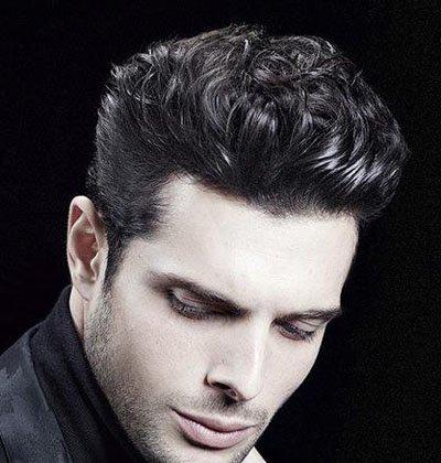 男生剃短发怎么屌 男生烫短发图片
