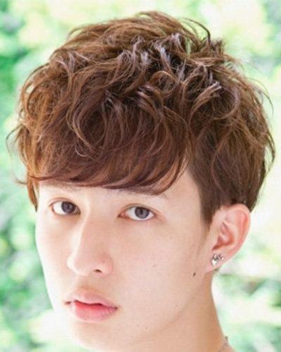 男士大全发型有哪些短发空气烫发发型图片图中长男士短发刘海名称发型图片