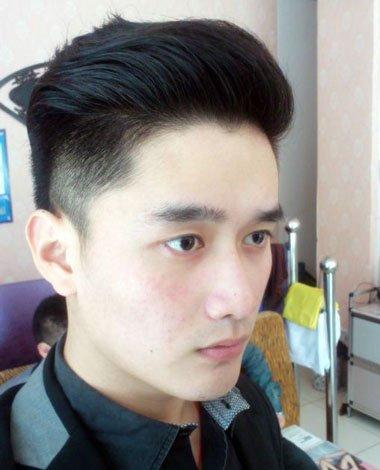 男人瓜子发型头发飞起来可以吗 男士精简发型图片