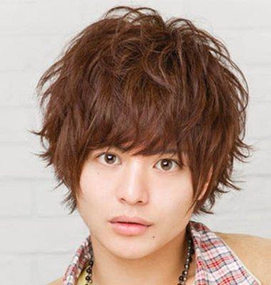 大全栗子色头发男士图片图片头发栗色(4)_短发韩式发型烫发背面男士颜色图片