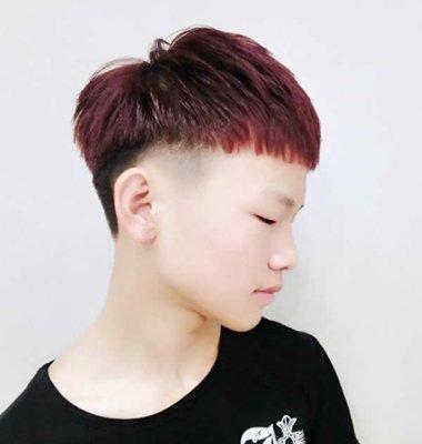 男孩超短发心形发型 90后男人发型短发
