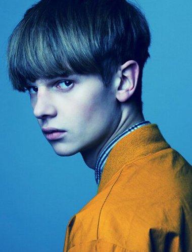 法式男青年发型 2016男明星发型图片图片