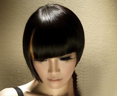 女人短沙宣头挑染发型设计-沙宣短发挑染 短发沙宣新潮造型 3图片