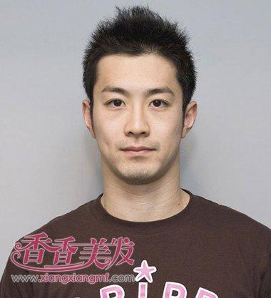中年男人超短发毛寸发型图片