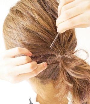 初中齐肩女人马尾辫发型 可爱女人中发马尾发型扎法(6