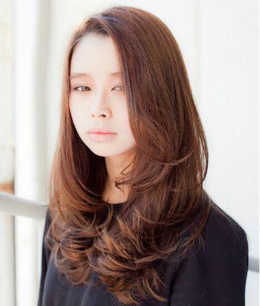 圆脸长发符合什么卷发 圆脸长头发符合的卷发(4)