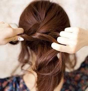 女人齐刘海扎马尾发型 齐刘海马尾辫发型(4)