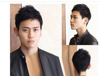 男生发际线高适合的发型 男士应该是什么样的发际线图片