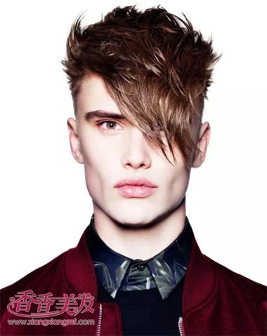 什么发型比较符合男瘦子 男瘦人的发型图片图片