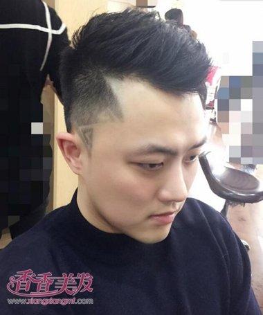 男孩子的2015年最流行的发型 鲨鱼头发型图片(2)