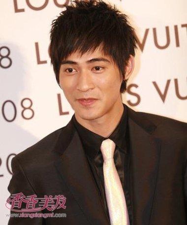 男的额头小发型设计 男人头太小了如何做发型(4)