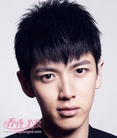 男人好看的短發發型圖片 2016年中國男士短發發型圖片
