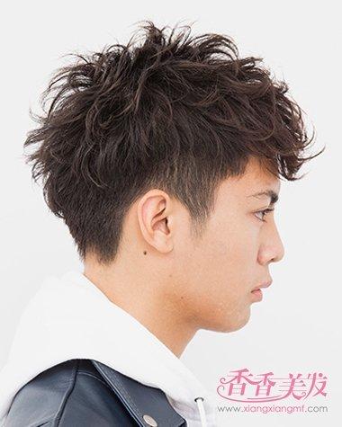 男人短发发型 男青少年短发发型设计图片