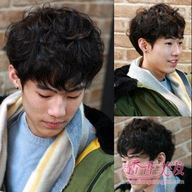 男生头发软适合的发型 男生最潮的发型