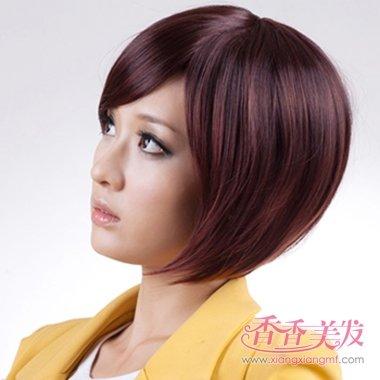 职业女人沙宣短发发型设计 2017沙宣成熟职业短发发型