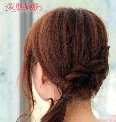 怎么编头发简单好看的马尾辫 简单马尾编辫子发型