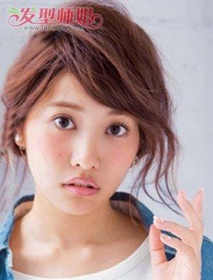 头小的女孩子适合盘发吗 小脸女孩盘发的方法图片