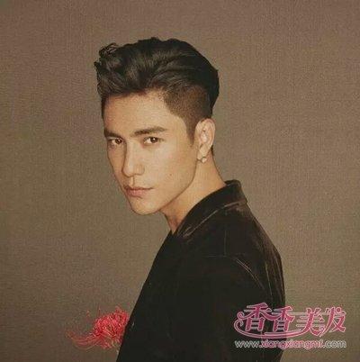 陈坤短发背头发型