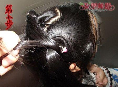 古代的头发如何盘 古代盘头发的方法图解(4)