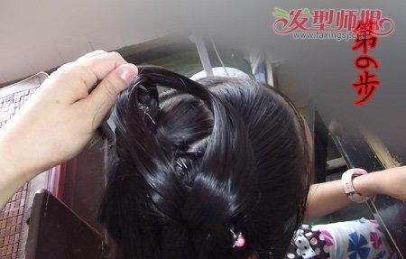 古代的头发如何盘 古代盘头发的方法图解(5)