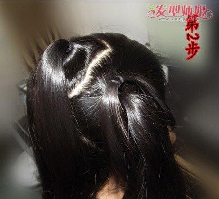 古代的头发如何盘 古代盘头发的方法图解(3)