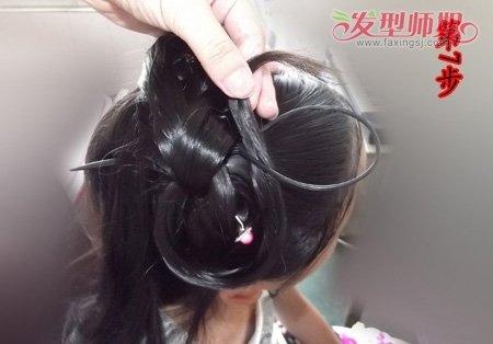 古代的头发怎么盘 古代盘头发的方法图解