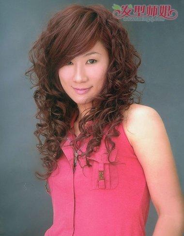 中发小卷满烫烫发发型软件中发满烫发颜色(4什么批图发型可以换头发图片图片