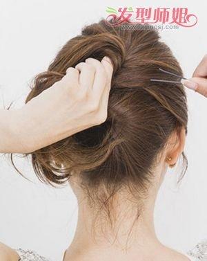 中年盘头发型步骤图片 2017中年女盘发发型(2)