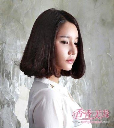 2017韩国流行中短发发型 韩国女人短发发型图片及名称
