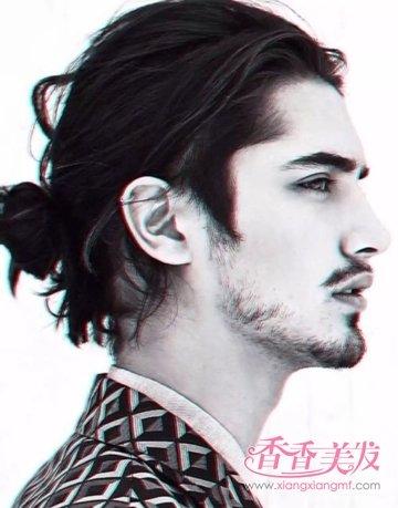 男人留长发要什么脸型 男人脸型符合的长发_发型图片图片