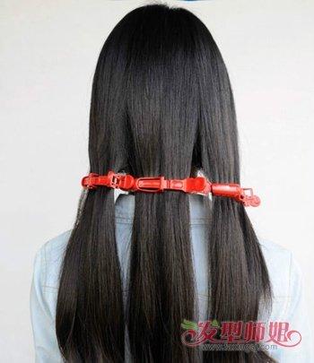 美发造型 卷发发型  女人如何让头发变卷?