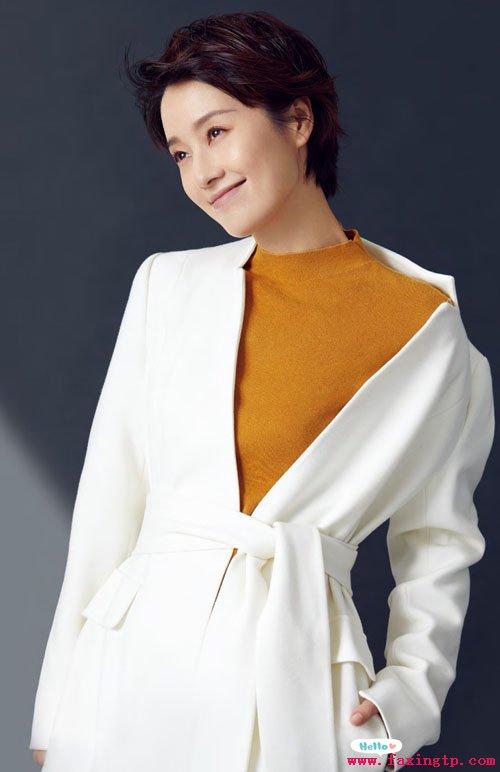 马伊琍的短发发型,时尚干练有气质