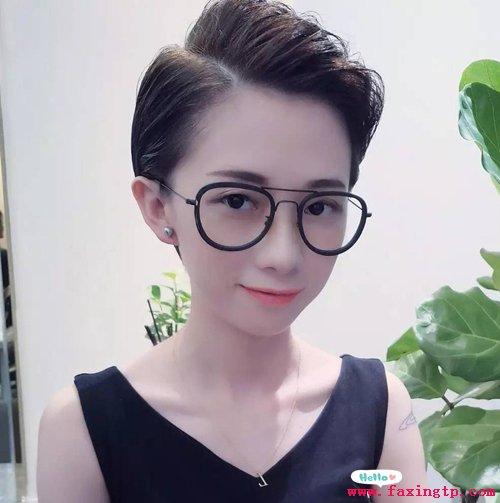 女生帅气短发发型,绝对惊艳图片