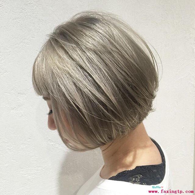 女生短发发型图片2016 女生短发背影图片图片