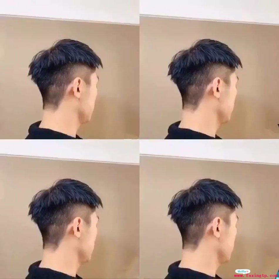 好看的碎盖头流行男士蓬松发型设计图片