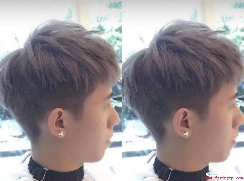 好看的碎盖头流行男士蓬松发型设计图片图片